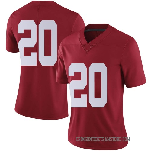 Women's Nike DJ Douglas Alabama Crimson Tide Limited Crimson Football College Jersey