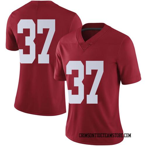 Women's Nike Dalton Adkison Alabama Crimson Tide Limited Crimson Football College Jersey