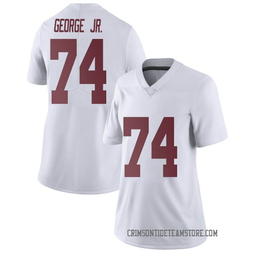 Women's Nike Damieon George Jr. Alabama Crimson Tide Limited White Football College Jersey