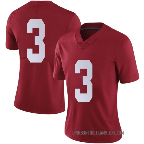 Women's Nike Daniel Wright Alabama Crimson Tide Limited Crimson Football College Jersey