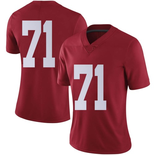 Women's Nike Darrian Dalcourt Alabama Crimson Tide Limited Crimson Football College Jersey