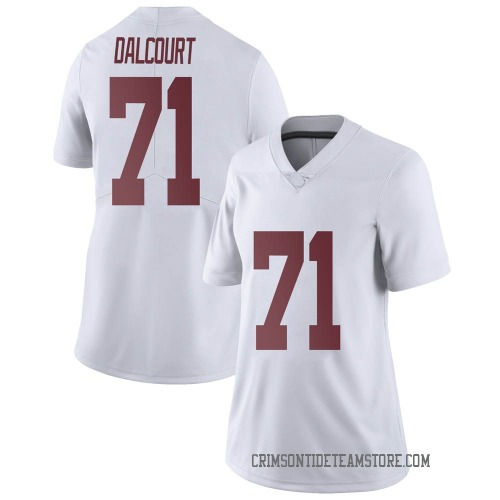 Women's Nike Darrian Dalcourt Alabama Crimson Tide Limited White Football College Jersey