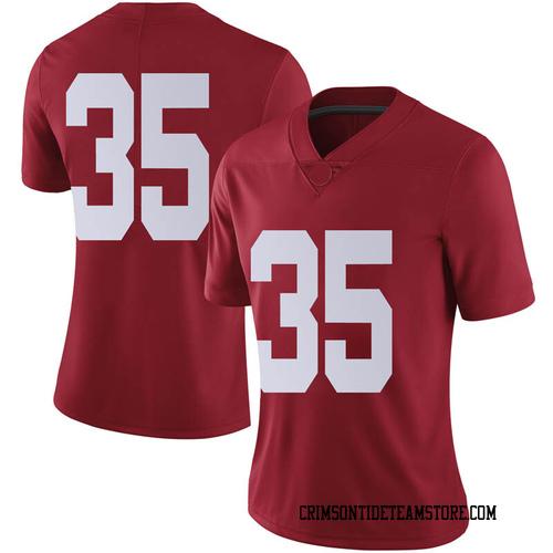 Women's Nike De'Marquise Lockridge Alabama Crimson Tide Limited Crimson Football College Jersey