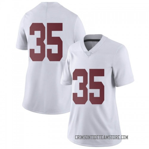 Women's Nike Demarquis Lockridge Alabama Crimson Tide Limited White Football College Jersey