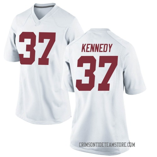 Women's Nike Demouy Kennedy Alabama Crimson Tide Game White Football College Jersey