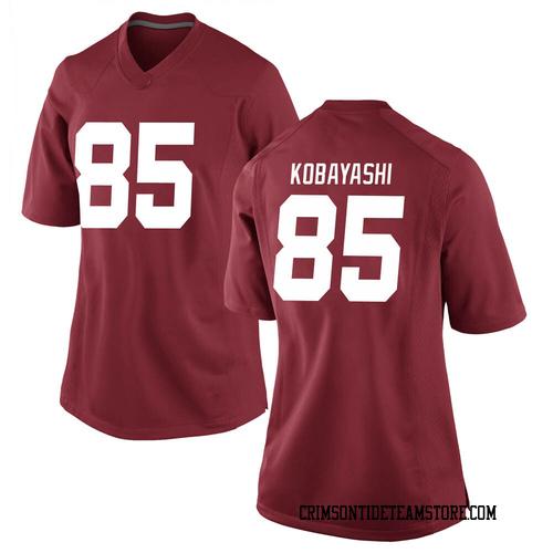 Women's Nike Drew Kobayashi Alabama Crimson Tide Game Crimson Football College Jersey