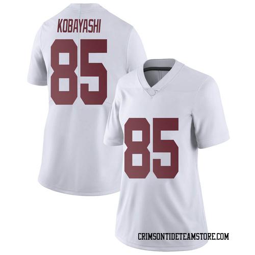 Women's Nike Drew Kobayashi Alabama Crimson Tide Limited White Football College Jersey