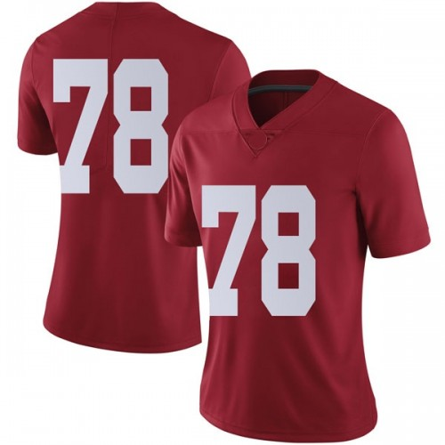 Women's Nike Elliot Baker Alabama Crimson Tide Limited Crimson Football College Jersey