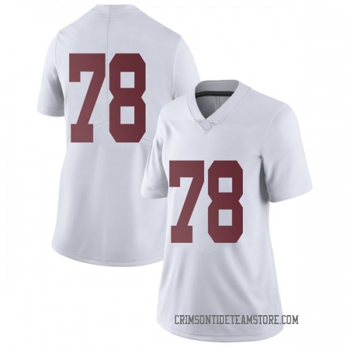 Women's Nike Elliot Baker Alabama Crimson Tide Limited White Football College Jersey