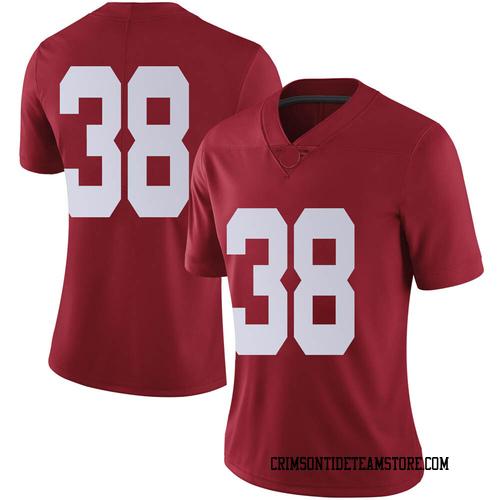 Women's Nike Eric Poellnitz Alabama Crimson Tide Limited Crimson Football College Jersey