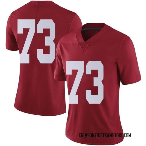 Women's Nike Evan Neal Alabama Crimson Tide Limited Crimson Football College Jersey