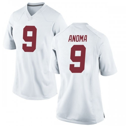 Women's Nike Eyabi Anoma Alabama Crimson Tide Game White Football College Jersey