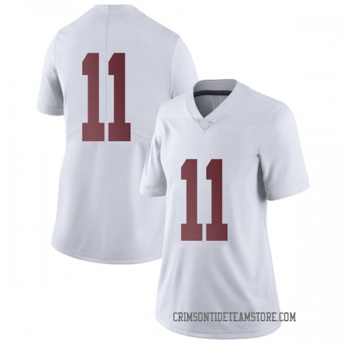 Women's Nike Henry Ruggs III Alabama Crimson Tide Limited White Football College Jersey