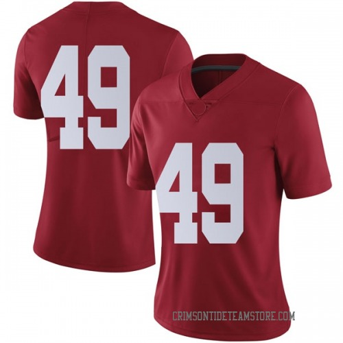 Women's Nike Isaiah Buggs Alabama Crimson Tide Limited Crimson Football College Jersey