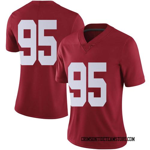 Women's Nike Ishmael Sopsher Alabama Crimson Tide Limited Crimson Football College Jersey