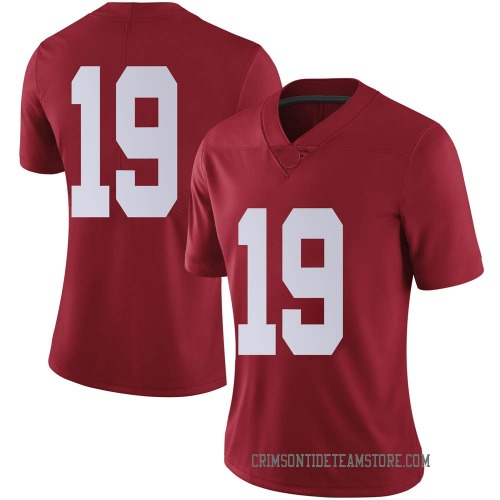 Women's Nike Jahleel Billingsley Alabama Crimson Tide Limited Crimson Football College Jersey