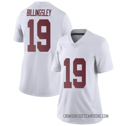 Women's Nike Jahleel Billingsley Alabama Crimson Tide Limited White Football College Jersey