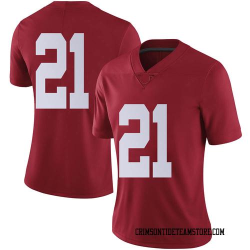Women's Nike Jahquez Robinson Alabama Crimson Tide Limited Crimson Football College Jersey