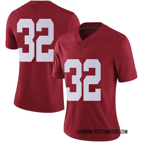Women's Nike Jalen Jackson Alabama Crimson Tide Limited Crimson Football College Jersey