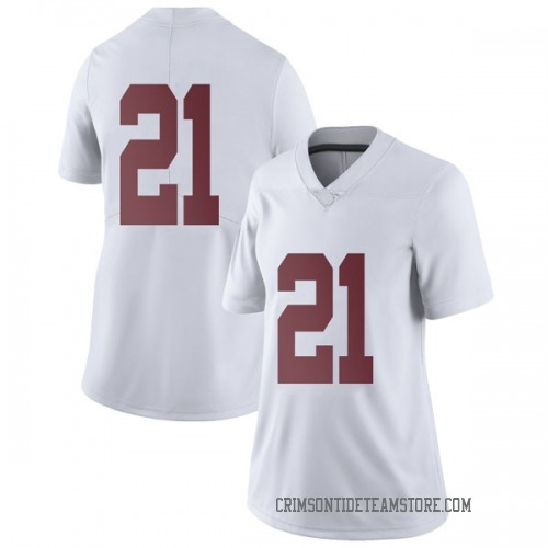 Women's Nike Jared Mayden Alabama Crimson Tide Limited White Football College Jersey