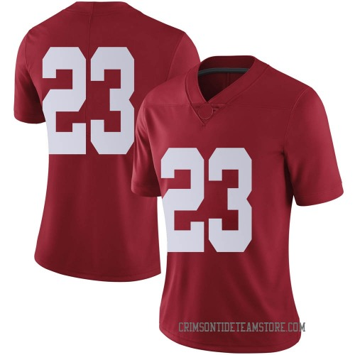 Women's Nike Jarez Parks Alabama Crimson Tide Limited Crimson Football College Jersey