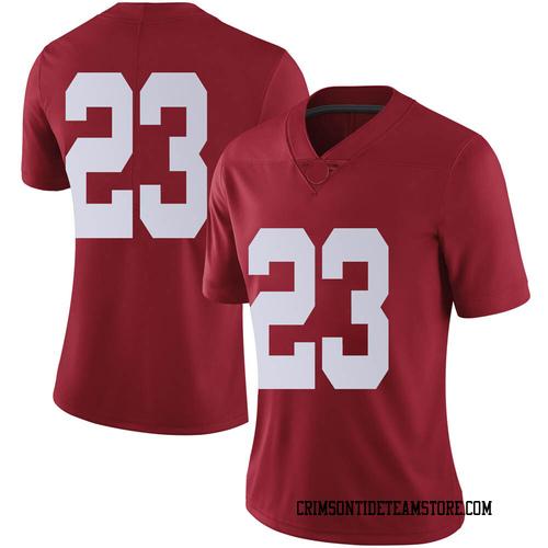 Women's Nike Jarez Parks Alabama Crimson Tide Limited Crimson Football College Jersey
