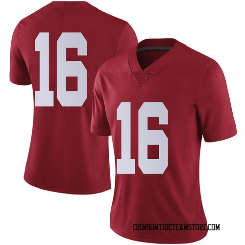 Women's Nike Jayden George Alabama Crimson Tide Limited Crimson Football College Jersey