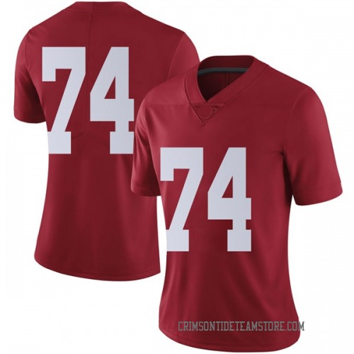 Women's Nike Jedrick Wills Jr. Alabama Crimson Tide Limited Crimson Football College Jersey