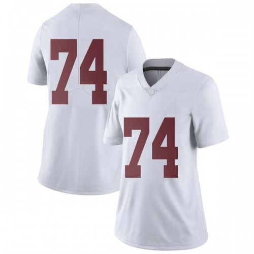 Women's Nike Jedrick Wills Jr. Alabama Crimson Tide Limited White Football College Jersey