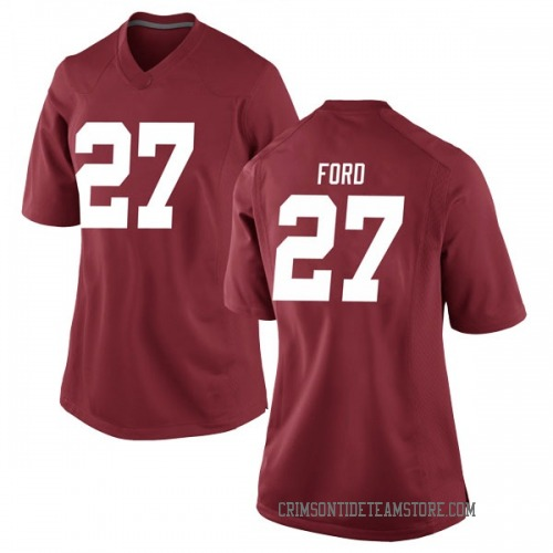 Women's Nike Jerome Ford Alabama Crimson Tide Replica Crimson Football College Jersey