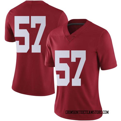 Women's Nike Joe Donald Alabama Crimson Tide Limited Crimson Football College Jersey