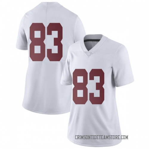 Women's Nike John Parker Alabama Crimson Tide Limited White Football College Jersey