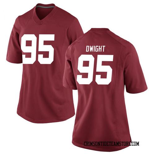 Women's Nike Johnny Dwight Alabama Crimson Tide Replica Crimson Football College Jersey