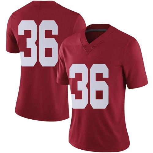 Women's Nike Jordan Parker Alabama Crimson Tide Limited Crimson Football College Jersey