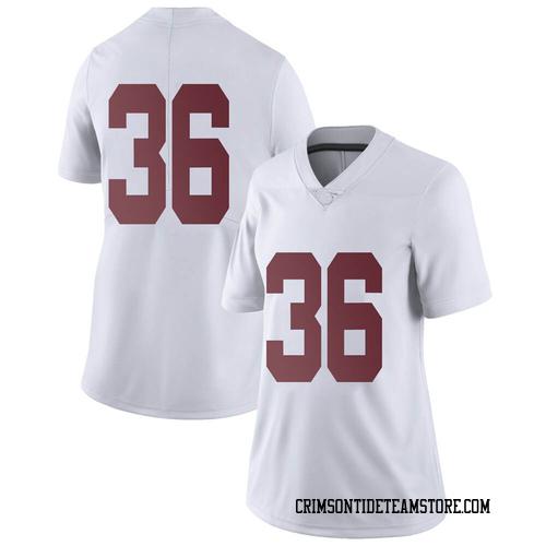 Women's Nike Jordan Parker Alabama Crimson Tide Limited White Football College Jersey