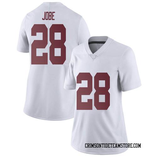 Women's Nike Josh Jobe Alabama Crimson Tide Limited White Football College Jersey