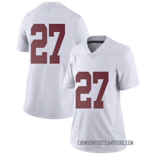 Women's Nike Joshua Robinson Alabama Crimson Tide Limited White Football College Jersey