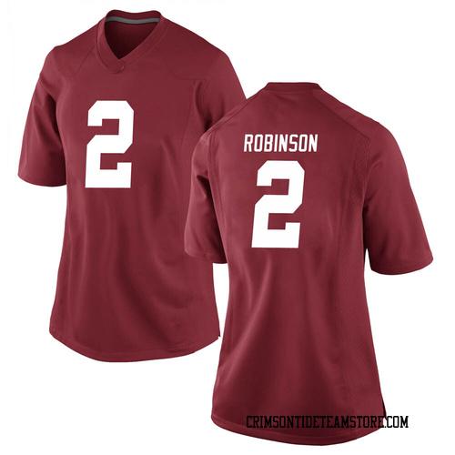 Women's Nike Keilan Robinson Alabama Crimson Tide Game Crimson Football College Jersey