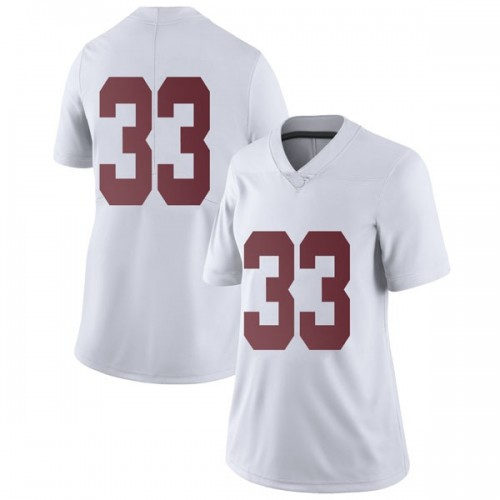 Women's Nike Kendall Norris Alabama Crimson Tide Limited White Football College Jersey