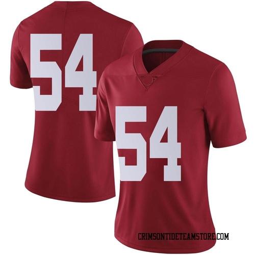 Women's Nike Kyle Flood Jr. Alabama Crimson Tide Limited Crimson Football College Jersey