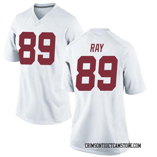 Women's Nike Labryan Ray Alabama Crimson Tide Game White Football College Jersey