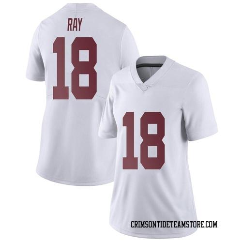 Women's Nike Labryan Ray Alabama Crimson Tide Limited White LaBryan Ray Football College Jersey