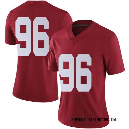 Women's Nike Landon Bothwell Alabama Crimson Tide Limited Crimson Football College Jersey