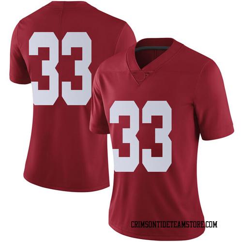 Women's Nike Landon Fuller Alabama Crimson Tide Limited Crimson Football College Jersey