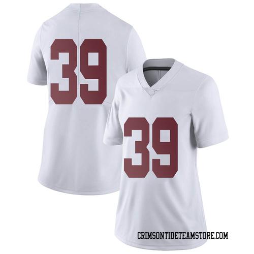 Women's Nike Loren Ugheoke Alabama Crimson Tide Limited White Football College Jersey