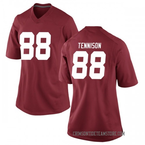Women's Nike Major Tennison Alabama Crimson Tide Game Crimson Football College Jersey