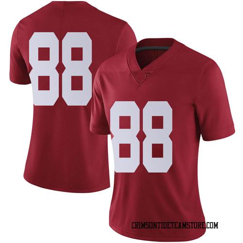 Women's Nike Major Tennison Alabama Crimson Tide Limited Crimson Football College Jersey