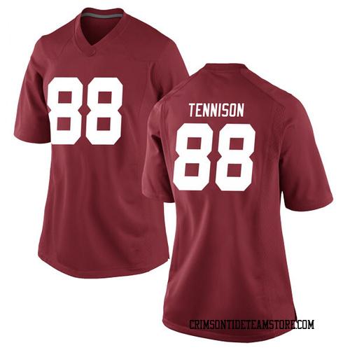 Women's Nike Major Tennison Alabama Crimson Tide Replica Crimson Football College Jersey