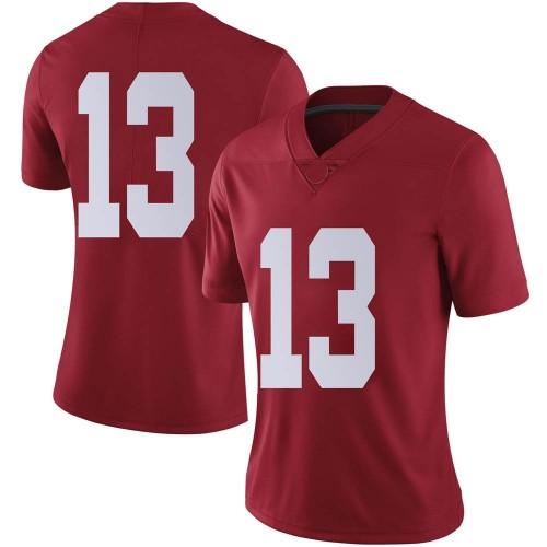 Women's Nike Malachi Moore Alabama Crimson Tide Limited Crimson Football College Jersey