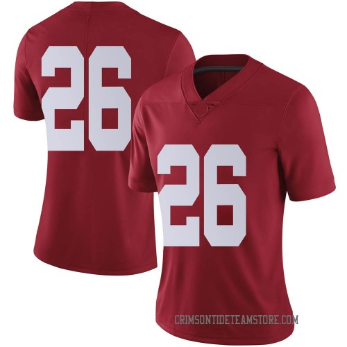 Women's Nike Marcus Banks Alabama Crimson Tide Limited Crimson Football College Jersey